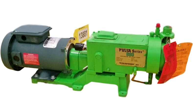 Unused Pulsafeeder Diaphram Metering Pump 880 Series