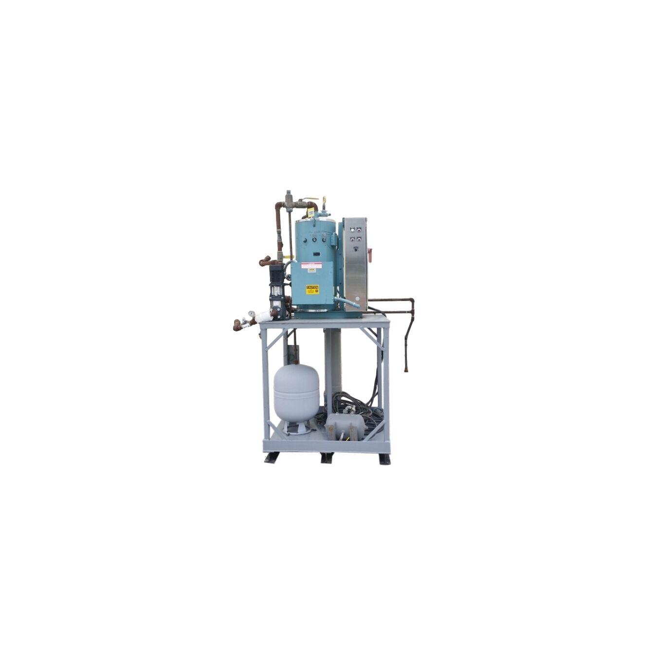 Water Boiler Model ~ Used cleaver‐brooks model wb‐ ‐ kw‐ hw electric hot