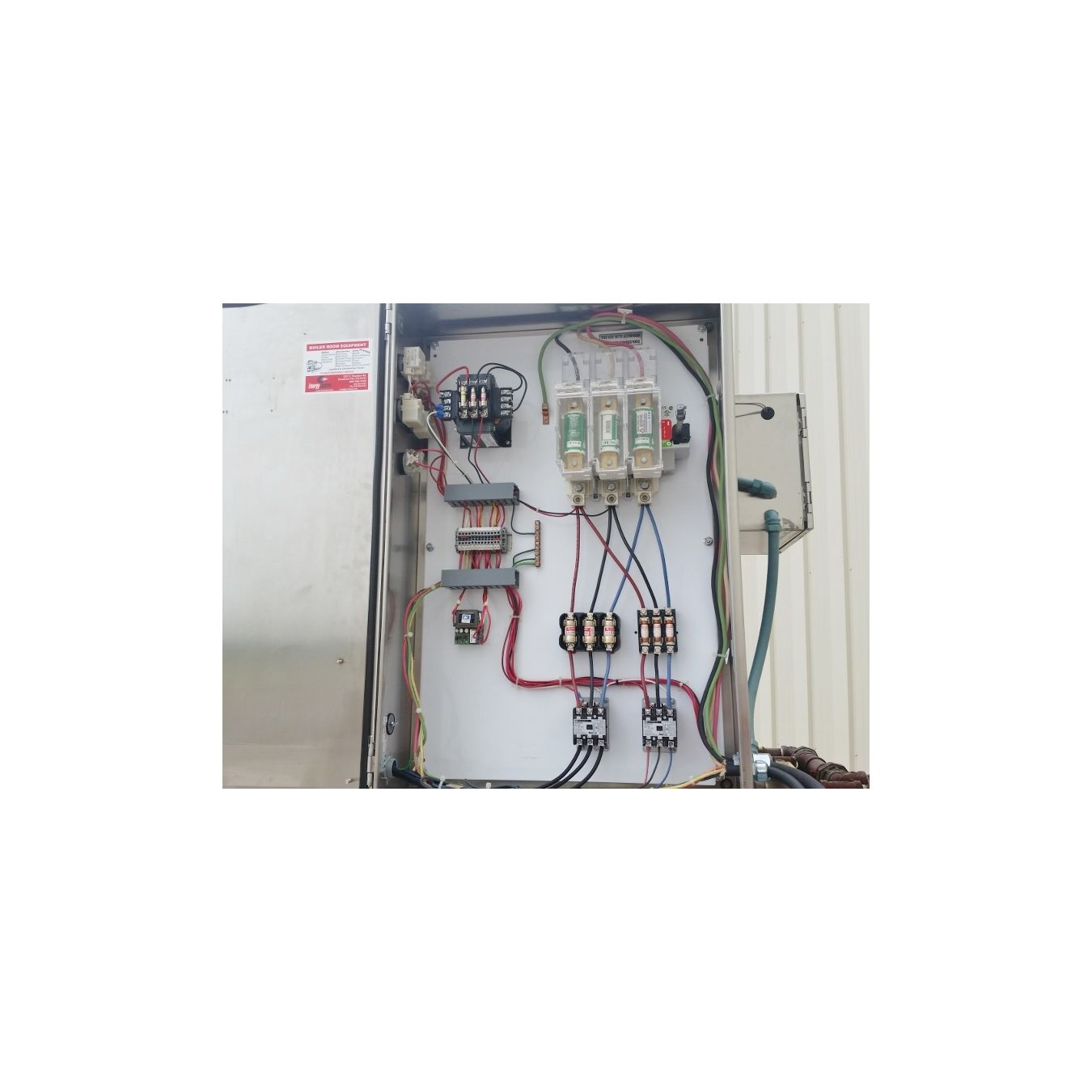 Used Cleaverbrooks Model Wb12024kw160hw Electric Hot Water Brooks Wiring Diagram Boiler