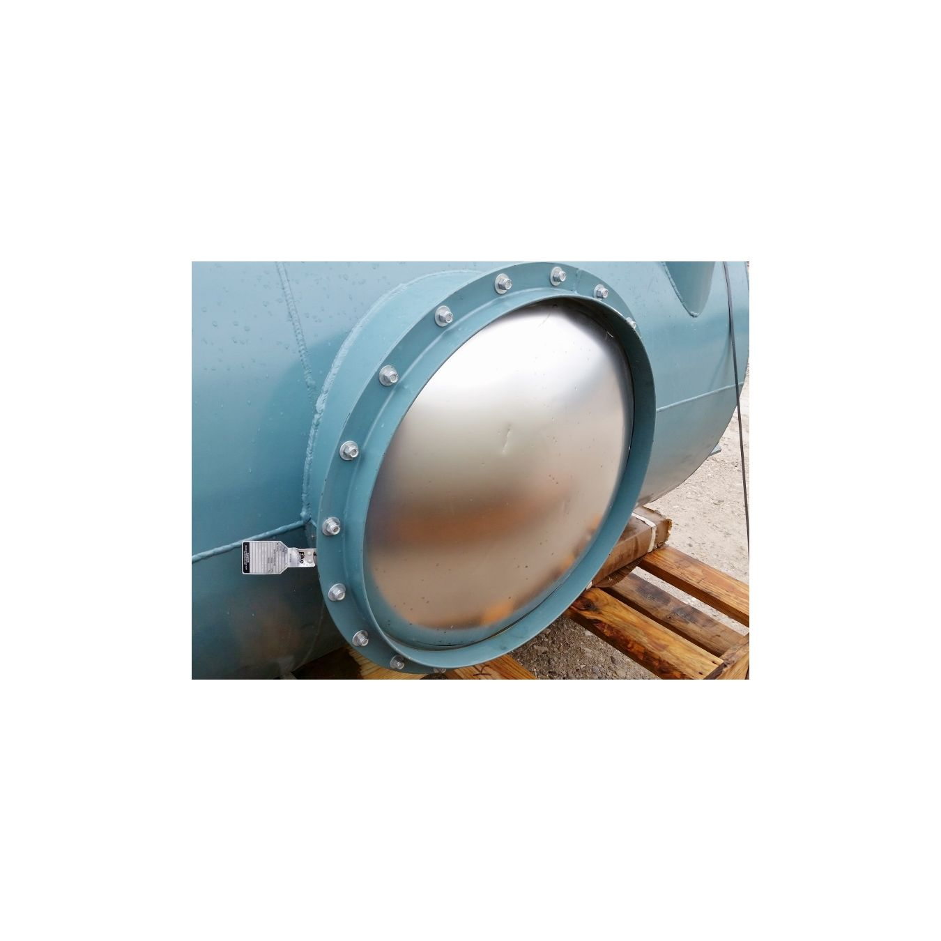 used 50 u0026quot  u00d8 hoffman vacuum separator cyclone for sale