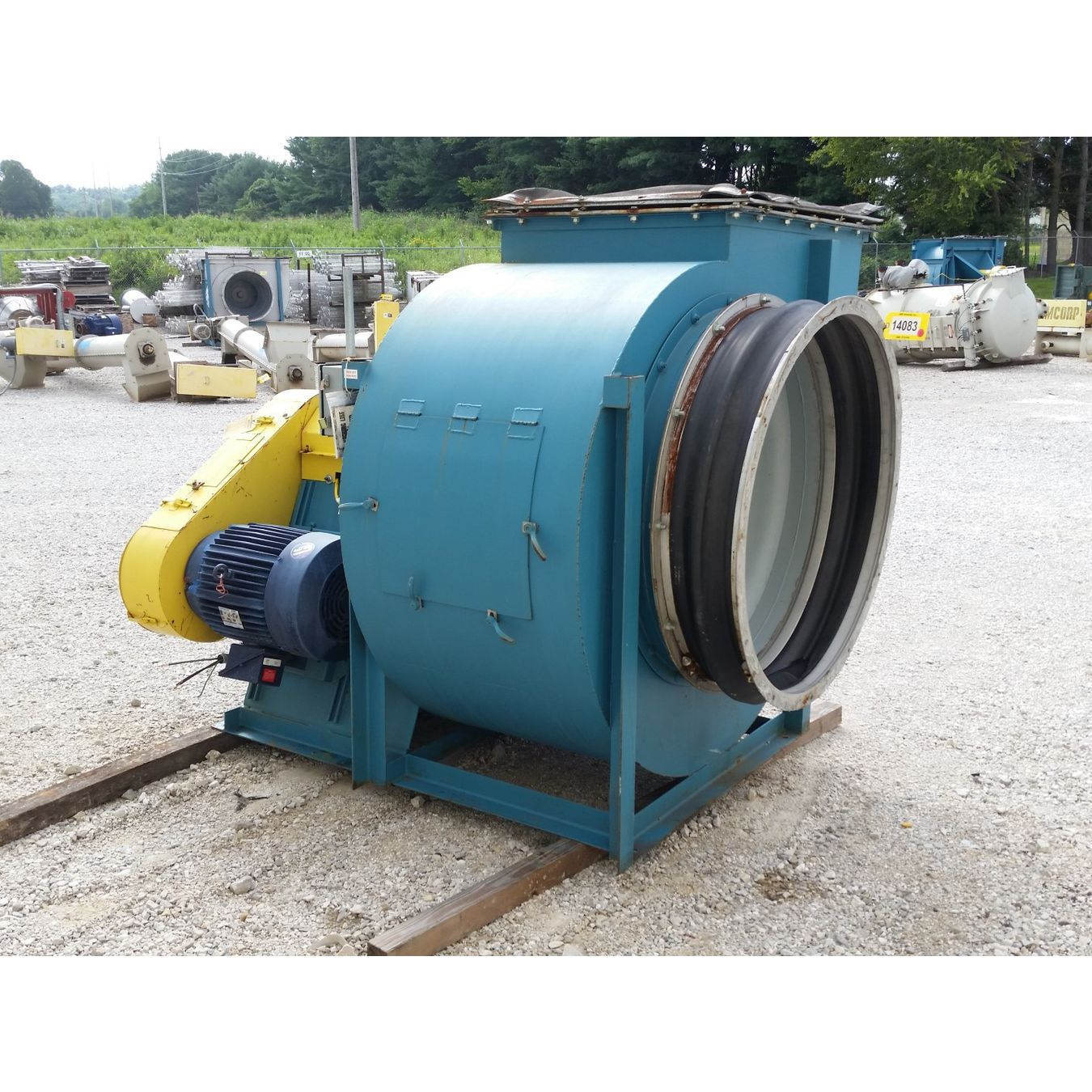 Industrial Exhaust Blower : Used cfm quot sp twin city fan blower industrial