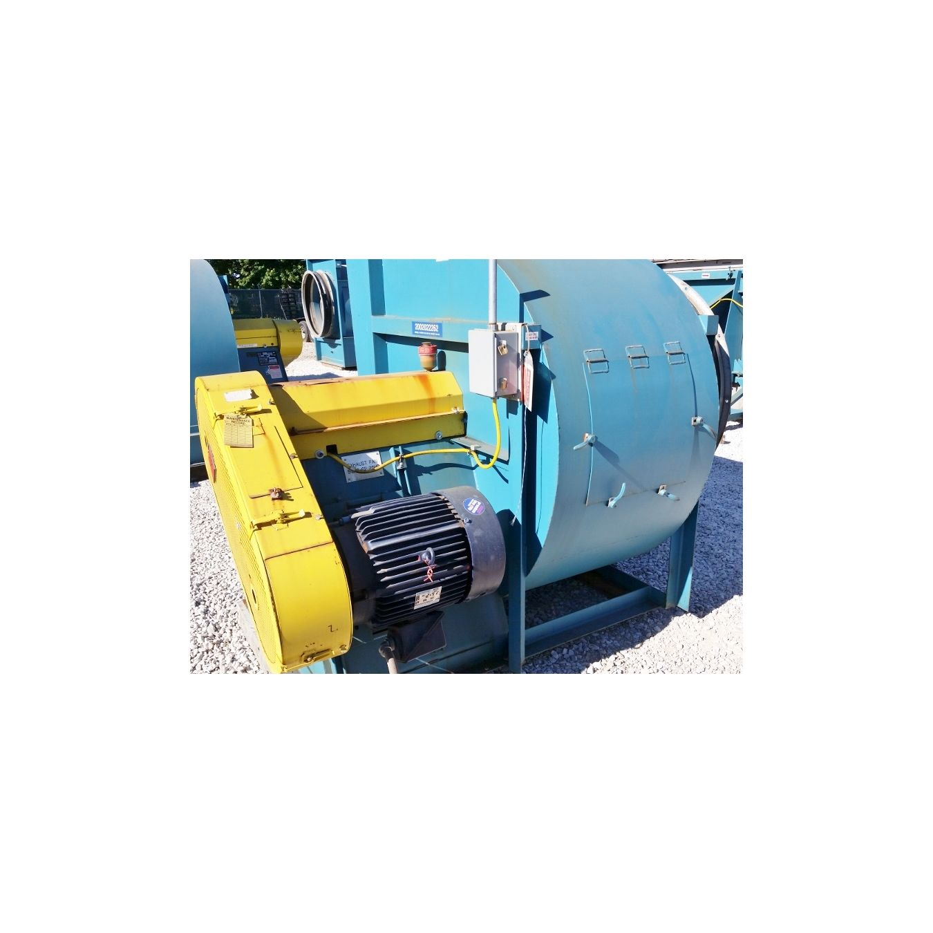 Twin City Fans And Blowers : Used cfm quot sp twin city fan blower industrial