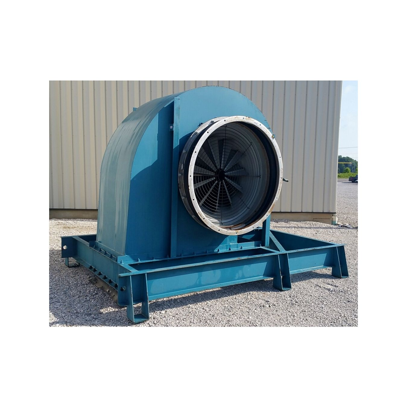 Twin City Fans And Blowers : Used cfm quot sp twin city airfoil exhaust