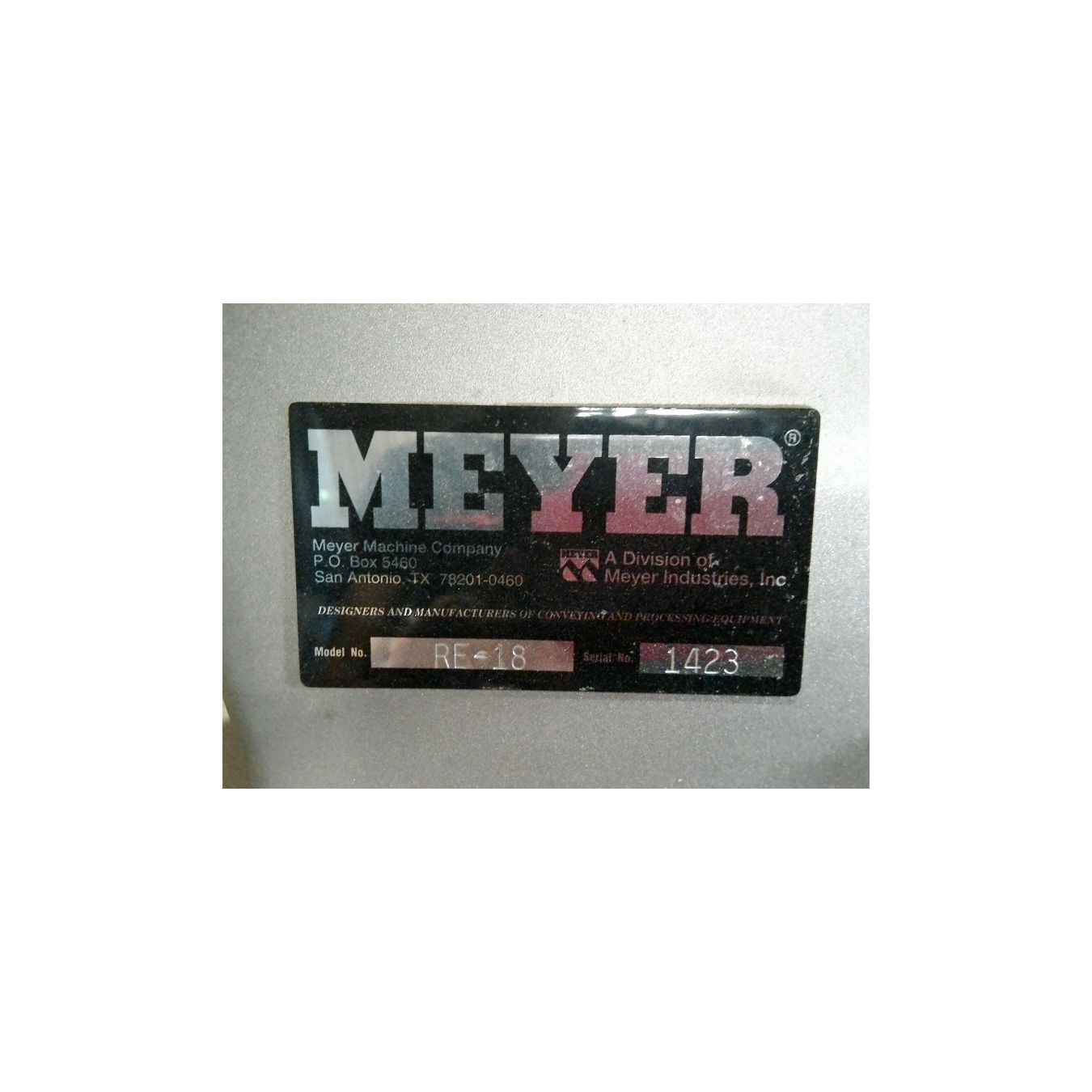 meyer machine co