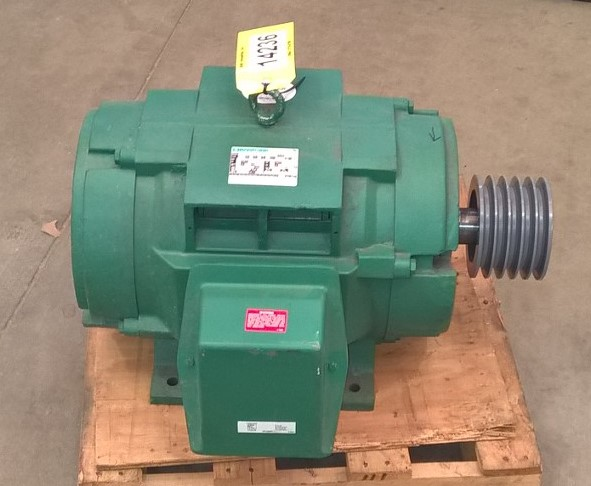 Used 40 Hp Marathon Electric Motor Drip Proof Enclosure