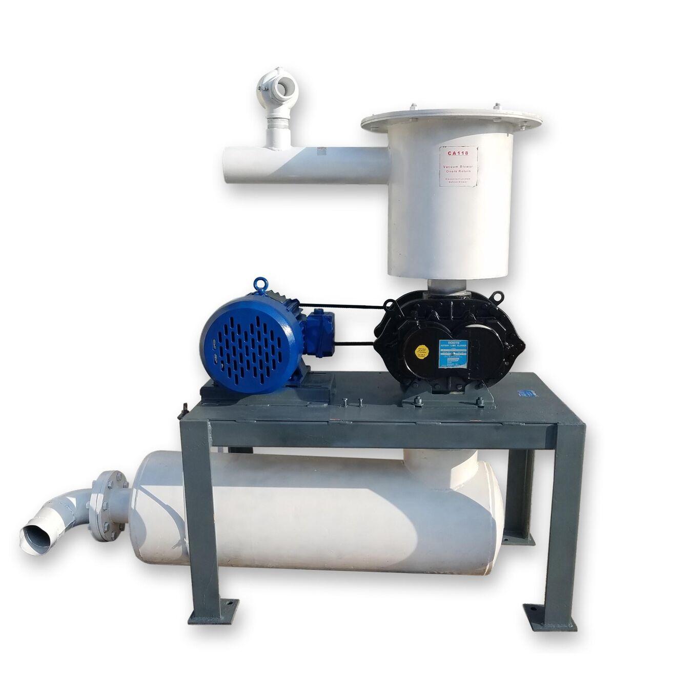 Vacuum Blowers Industrial Process : Used hp roots u rai vacuum blower package fans