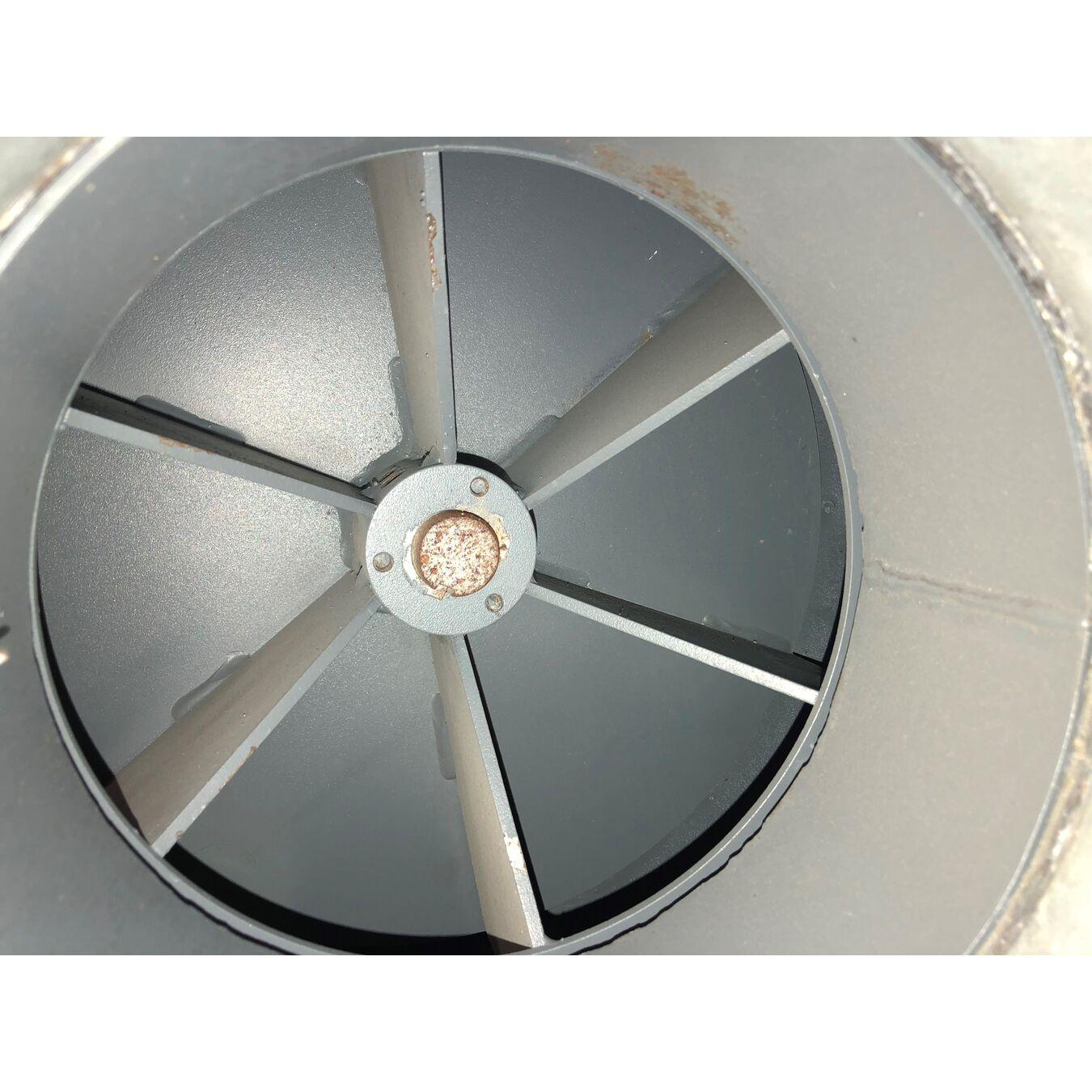 2000 Cfm Fan : Used cfm quot sp centrifugal fan hp fans