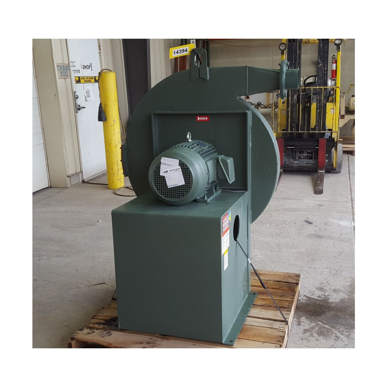 61 SP Unused 20 HP New York Pressure Blower 290 Alum : Fans & B  #A88F23