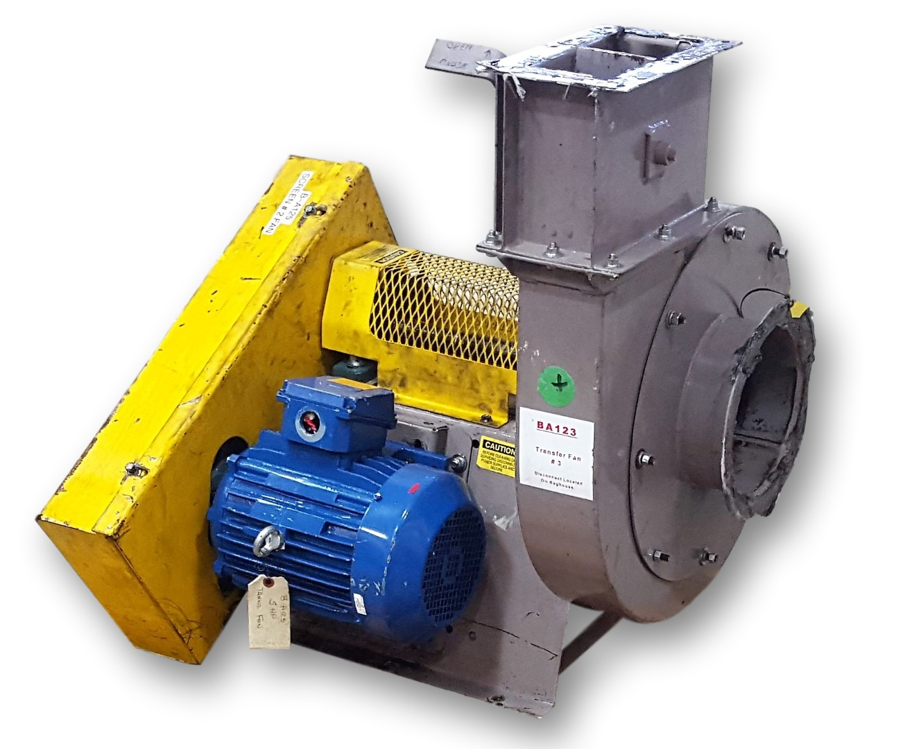 Centrifugal Fans And Blowers : Used cfm quot sp daltec hp centrifugal fan fans