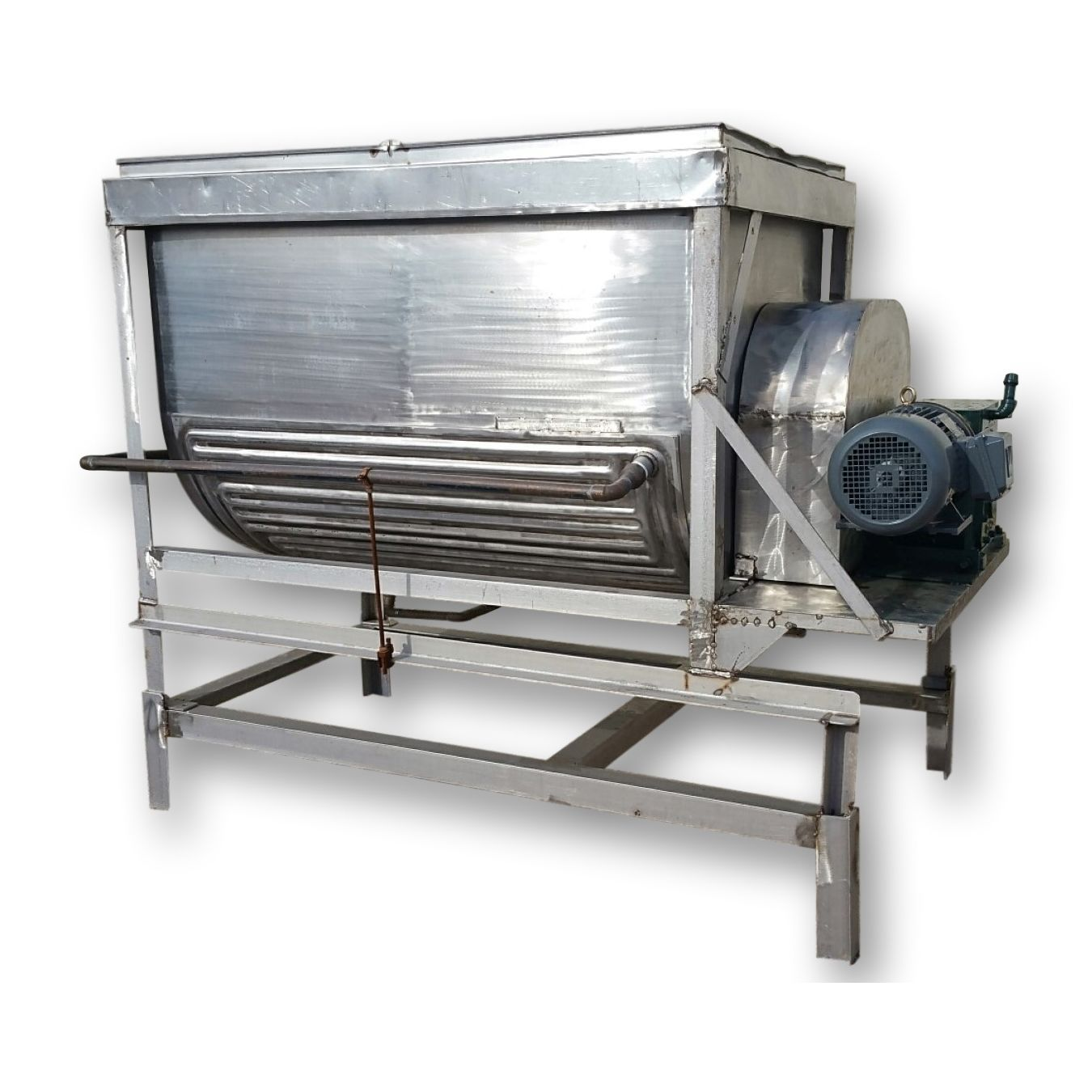 Used 25 Cubic Foot Stainless Steel Jacketed Paddle Blender