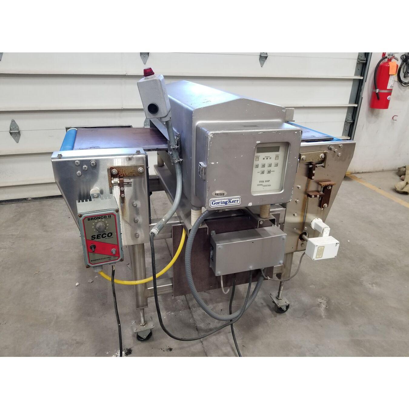 Used Goring Kerr Portable Metal Detector Conveyor With