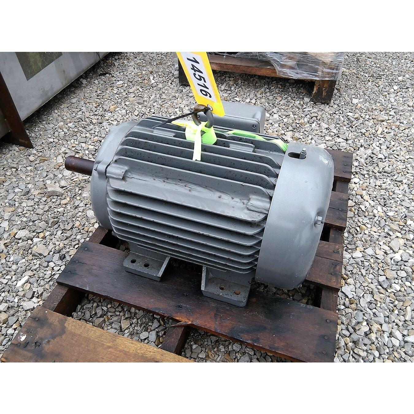 Unused 20hp baldor motor 286u frame 3525rpm motors for Motor baldor 20 hp
