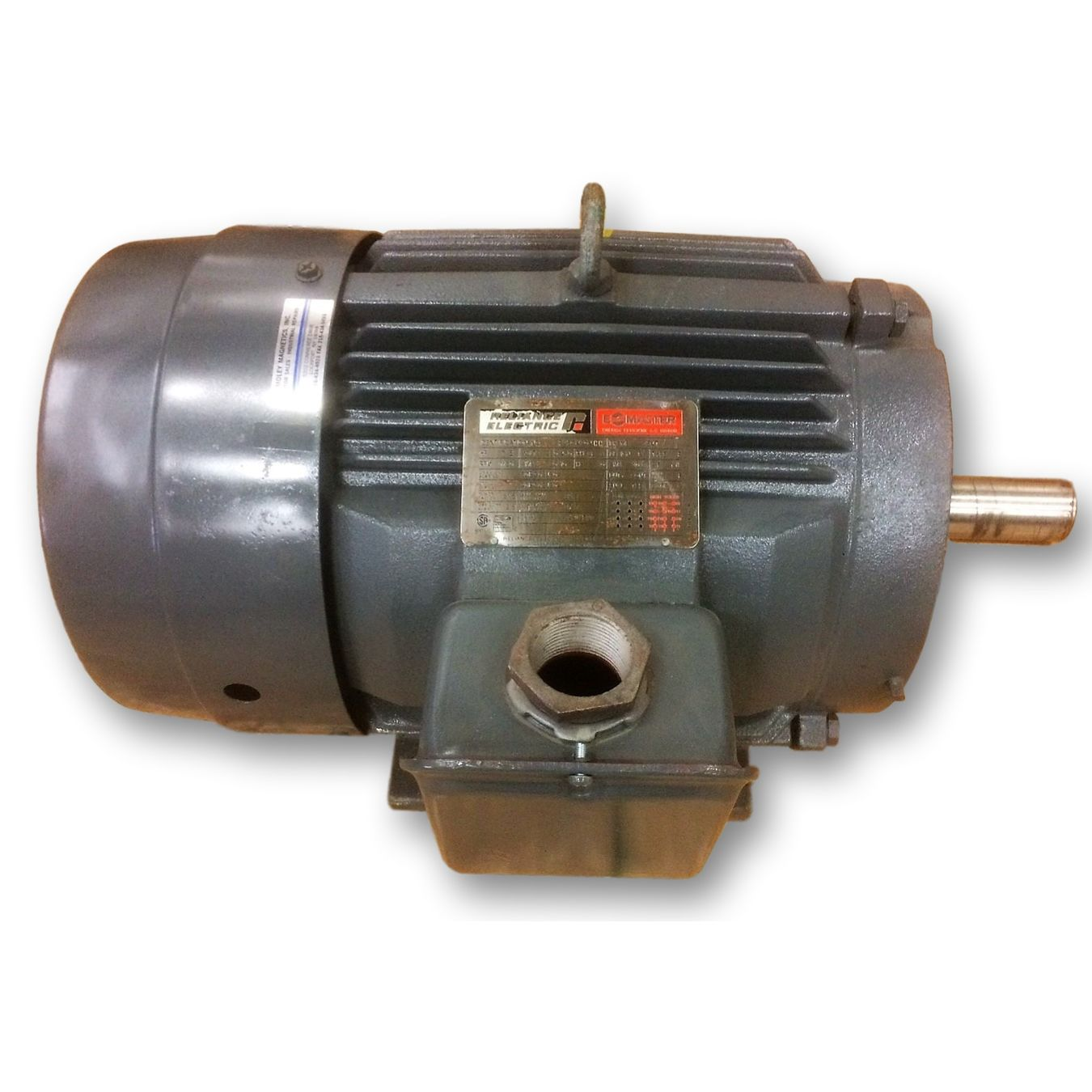 7 5hp reliance electric motor 254t frame 1150 rpm