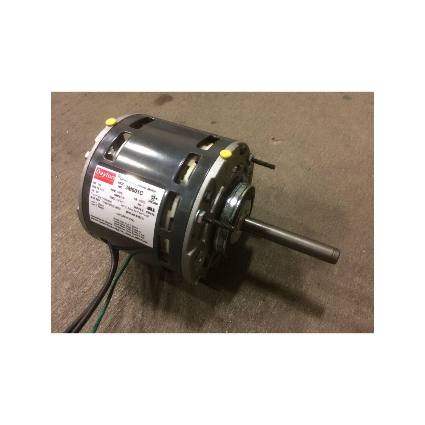 1 6 hp dayton 3m601c direct drive blower motor 42yz frame for Who makes dayton motors