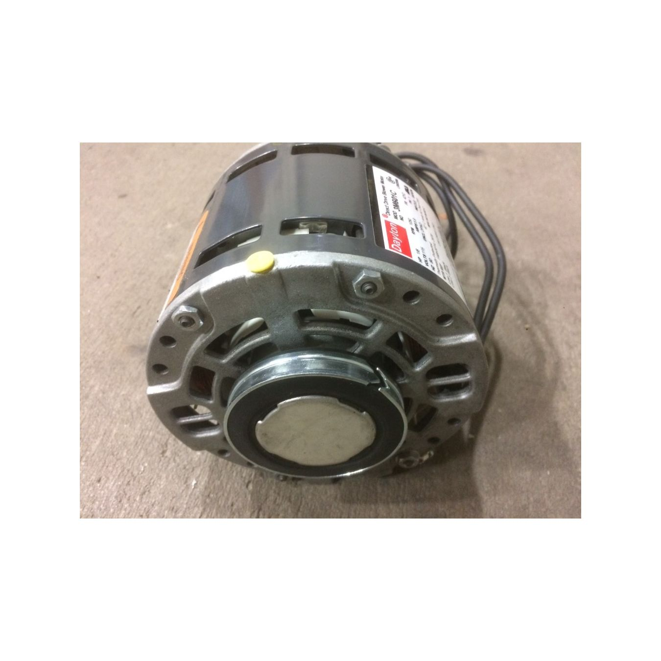 Direct Drive Blowers Product : Hp dayton m c direct drive blower motor yz frame