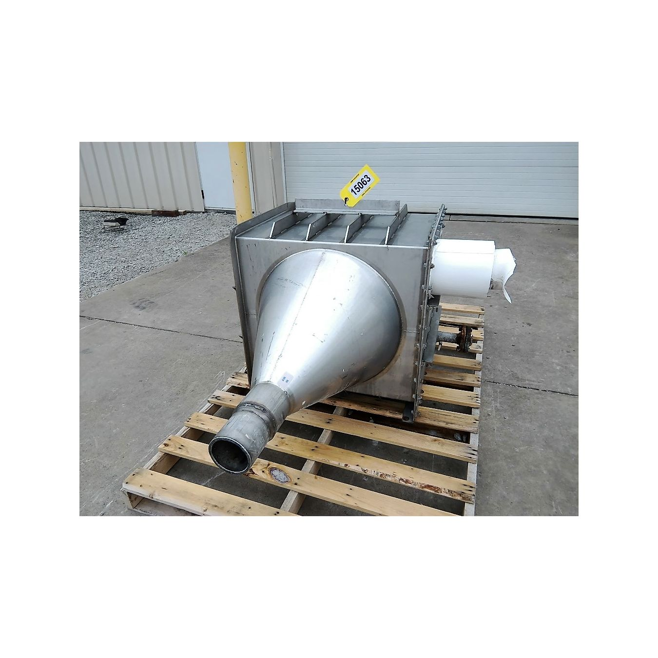 Air Heat Exchanger ~ Used stainless steel xchanger air heat exchanger c