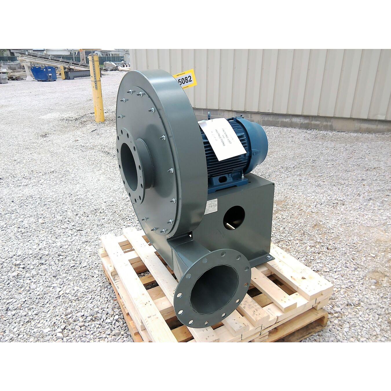 New York Blower Pressure Blower : Unused hp nyb pressure blower  cfm
