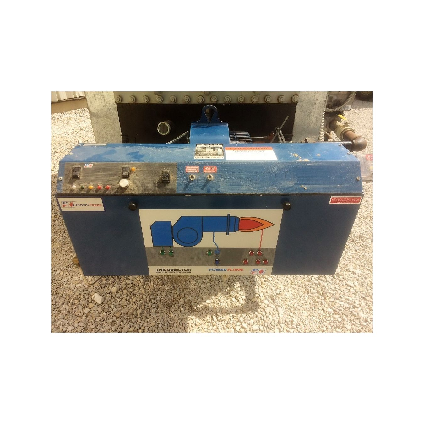... Used AJAX Industrial Boiler Forced Draft Gas Hot Boiler Water Heater WRFG-3000 ...