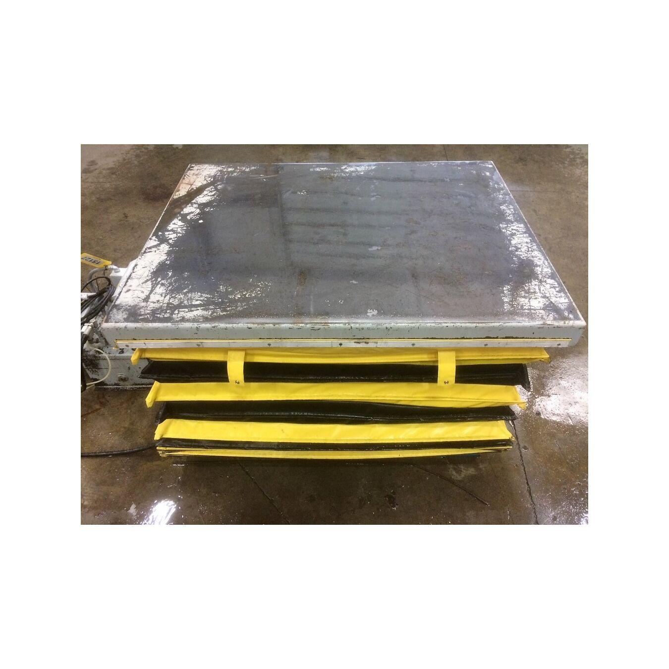 Used 4000 lb capacity american scissor lift table model m 1170 2j used 4000 lb capacity american scissor lift table model m 1170 2j geotapseo Choice Image