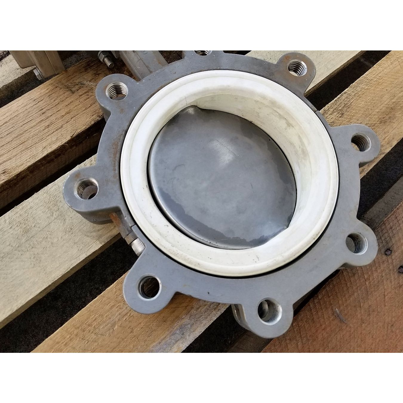 Used 6 Quot Bray Stainless Steel Butterfly Valve 21 Series