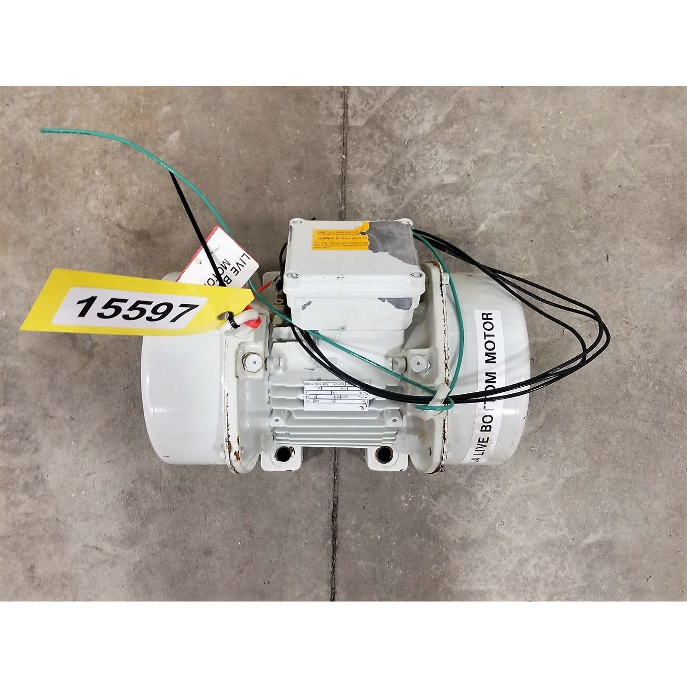 used electric vibrator vibratory motor jv for sale