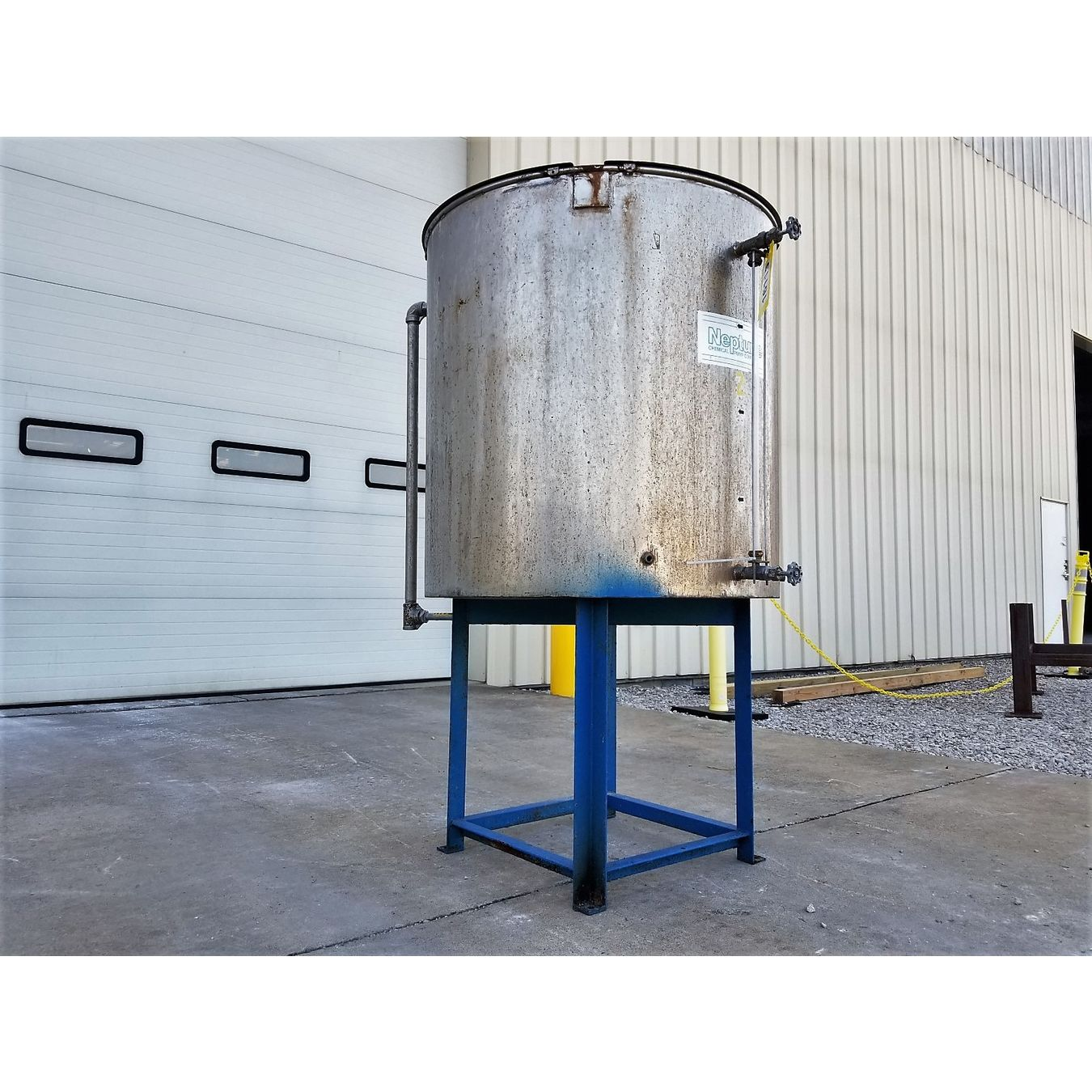 Used Water Tanks For Sale >> Used Stainless Steel Liquid Tank 140 Gallon For Sale Buy And Sell