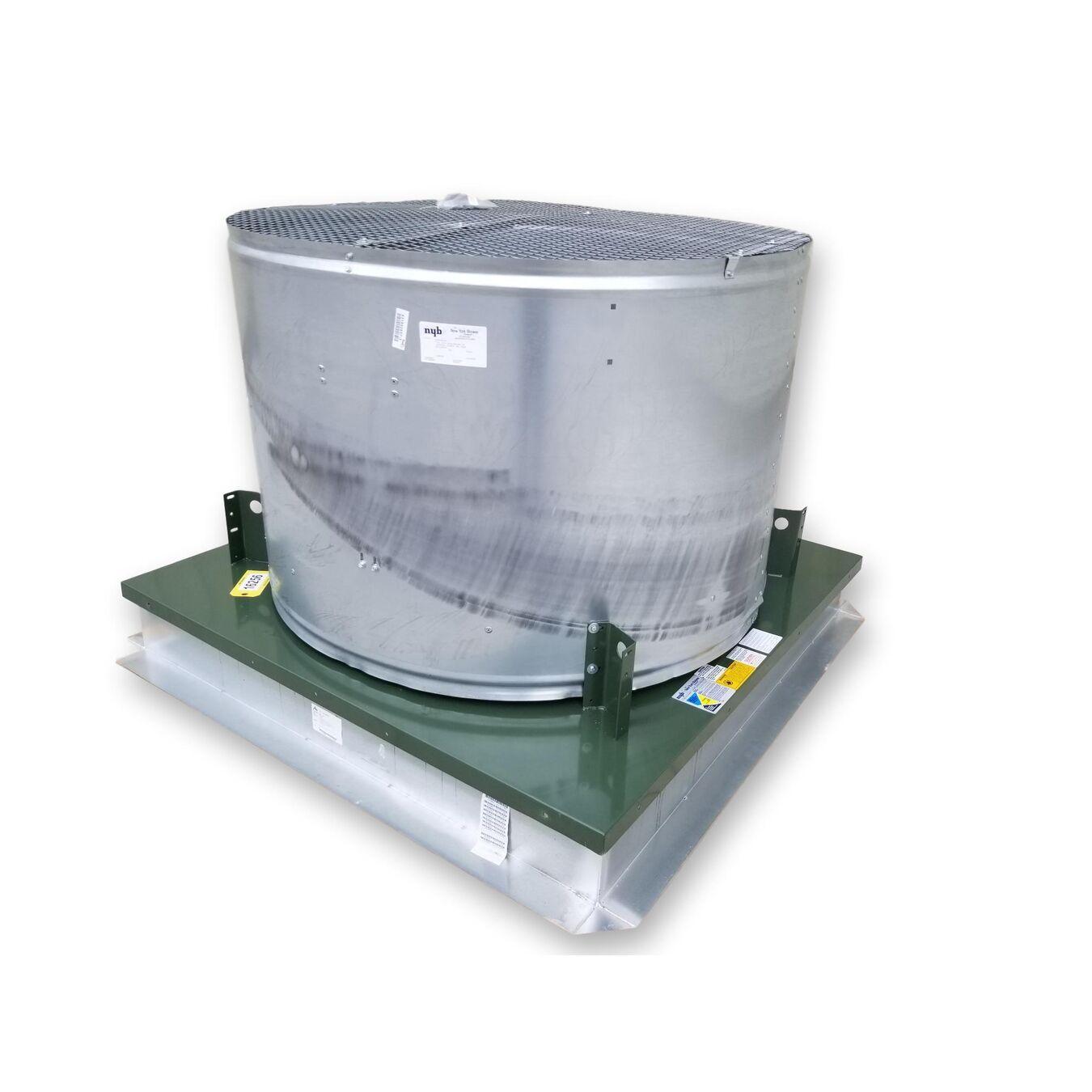 23 678 Cfm 0 25 In Wg New York Blower Roof Mounted Fan
