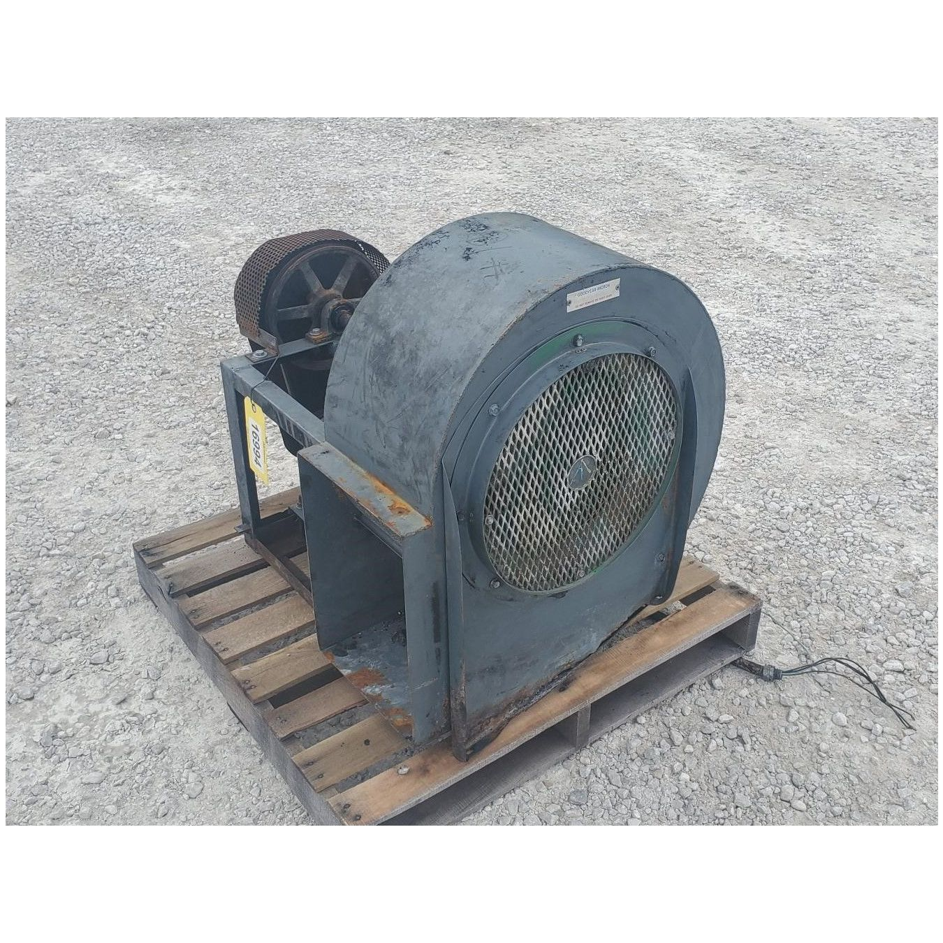 1hp Peerless 15f Centrifugal Blower 3 072cfm For Sale