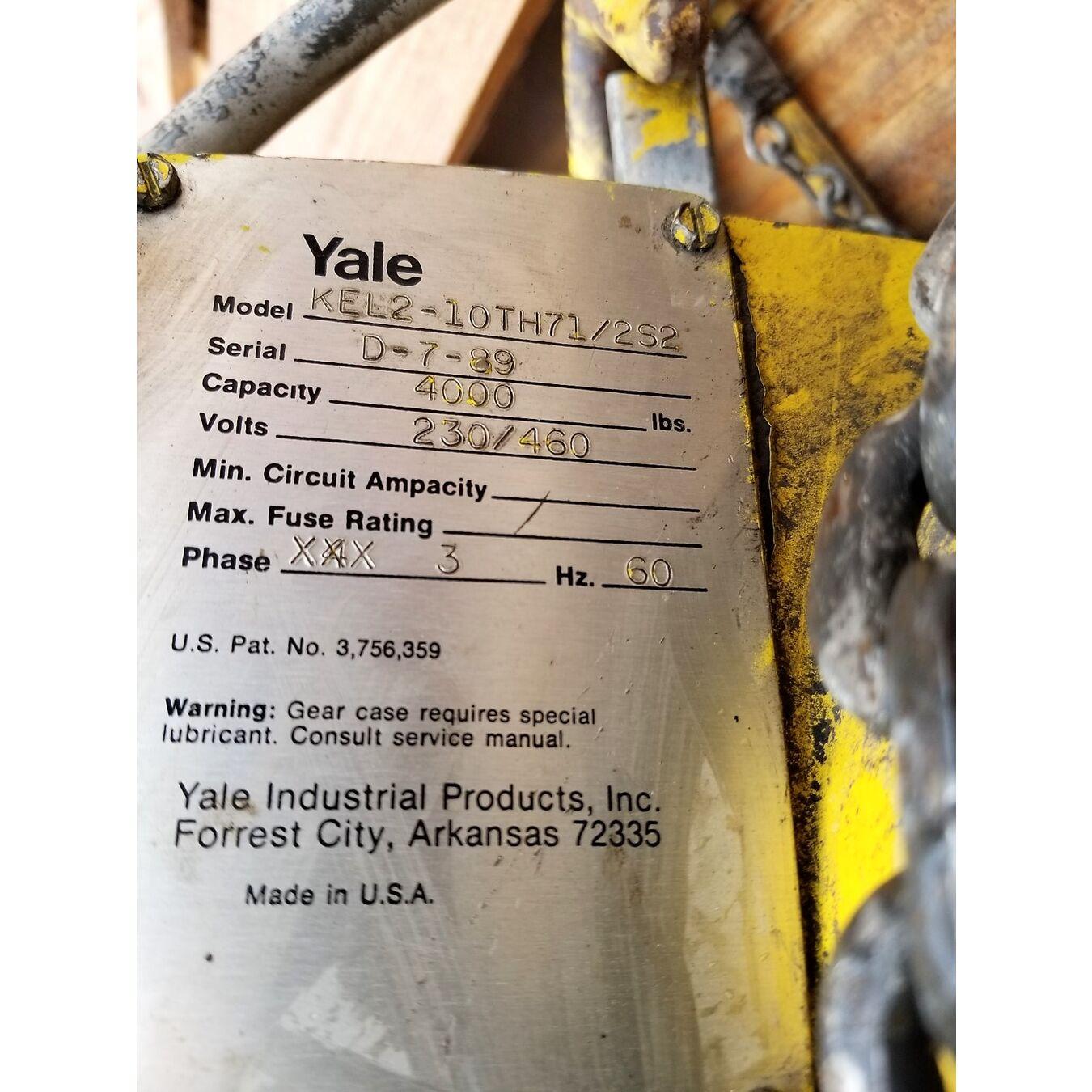 Yale Kel2 Hoist Wiring Diagram. . Wiring Diagram  Ton Yale Hoist Wiring Diagram For Electric on