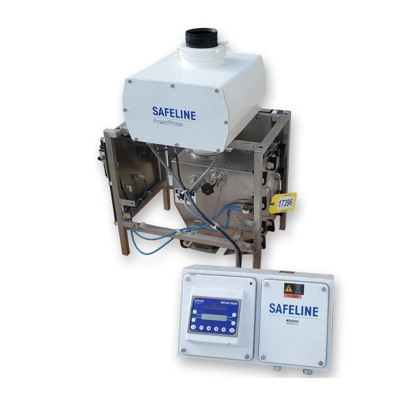 Safeline Mettler Toledo Power Phase Gravity Metal Detector